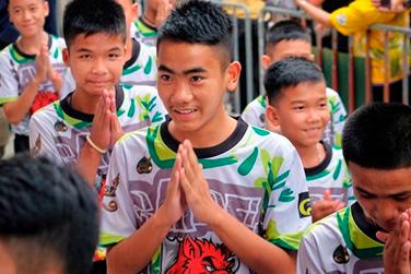 d6908f52419 La tecnología fue clave en el rescate de los estudiantes tailandeses |  Lampadia