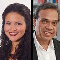 Paola del Carpio y Miguel Jaramillo